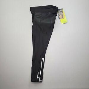 NEW Canari Men's Pro Elite Gel Cycling Tights Padded Pants Sz M Black/Reflective