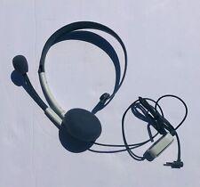 1 XBox 360 headphone OEM White EUC