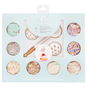 American Crafts Sweet Tooth Fairy Black Friday Sprinkle Wand Kit - 12 Piece
