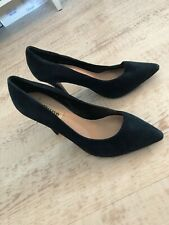 Dune Suede Court Shoes - Size 4