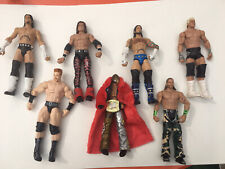 WWE Action Wrestlers Lot Of 7 Assorted Collectible Figures 2010's..Mattel Shamus
