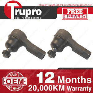 2 Pcs Trupro LH+RH Outer Tie Rod Ends for MAZDA 323 PROTEGE BJ 98-02