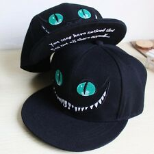 Men Women Sport Baseball Hat Hip-hop Snapback Cheshire Cat Cap Unisex Adjustable