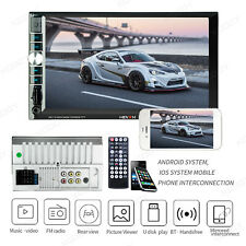 2Din 7 inch HD Touch Screen In Dash Car Radio MP5 Player Android/IOS Mirror Link