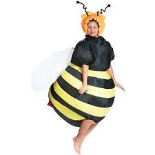 "Luftkostüm: Selbstaufblasendes Kostüm ""Fette Biene"" (Karneval-Kostüm aufblasbar)"