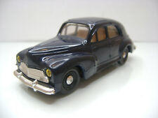Diecast Eligor Peugeot 203 1:43 in Dark Blue Very Good Condition Rare Color