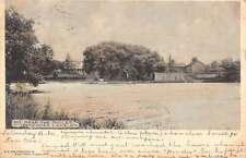 Kenoza Lake New York Waterfront Outlet Antique Postcard K60687