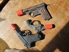 Vintage Lot Parts Only! Metal NAT'L M.Y.C., Squirt Gun REPEATER, KNICKERBOCKER