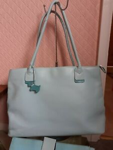 Absolutely Gorgeous Extra Large  Blue With Turquoise Trim Radley Work/Laptop Bag