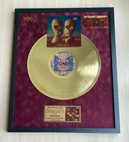 Pink Floyd The Division Bell Vinyl Gold Metallisierte Schallplatte im...