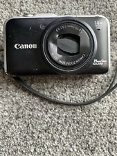 Canon Powershot SX230HS 12.1MP Digital Camera Black PC1587 - for parts/Repair