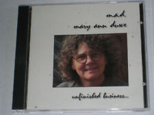 MARY ANN DUWE UNFINISHED BUSINESS  CD 13 SONGS 2000 M.A.D.