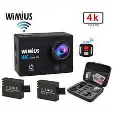 WiMiUS 16 MP 4K Wifi Waterproof Action Camera +2.4G Remote Control HD Cam+bag