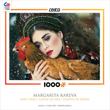 NEW CEACO 3376-3 Margarita Kareva Fairy Tales Lady with a Chicken 1000 Pc puzzle