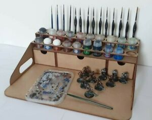 Hobby Work Station 20 Citadel Paints Paint Station Portable Peinture Citadel 40k