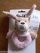 Steiff Gute Nacht Hund rosa Greifling 12 cm # 238093 neu