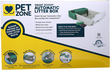 Pets Smart Scoop Automatic Cat Litter Box Rugged Reliable with Sturdy Metal Gear