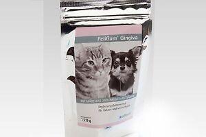 Alfavet FeliGum Gingiva 120g bei Zahnfleischentzündung, Katze, Hund, Leckerlie