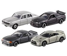 Takara Tomy Tomica Nissan GT-R 4pcs PGC10  R32  R34  R35  Vehicle Set