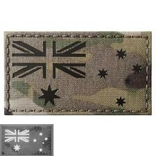 Australia flag infrared IR multicam morale reflective laser touch fastener patch