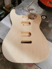 Basswood Charvel/Jackson HH Strat body - you choose trem or Evertune bridge rout