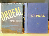 ORDEAL ~ Nevil Shute, 1939, First Edition, Hardcover w/Jacket, Novel