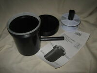 A-P Developing Tank 35mm & 120 Film w/ 1 Reel and Instructions - Made in Spain