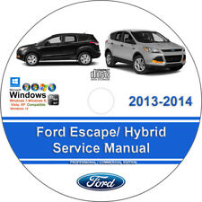 Ford Escape 2013-2014 Including Hybrid Factory Workshop Service Repair Manual