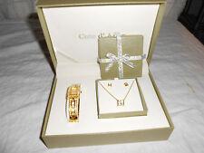 Cote D' Azur ladies quartz watch gift set new