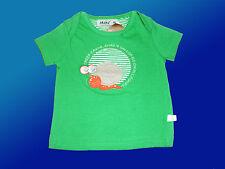 mignon Shirt pour garçons Babyshirt -T Haut m. escargot motif vert Gr. 62