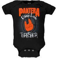 PANTERA DADDY'S LITTLE THRASHER BABY ROMPER ROCK MUSIC INFANT ONE PIECE BODYSUIT