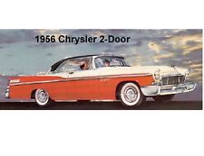 1956 Chrysler 2-Door Auto  Refrigerator Magnet