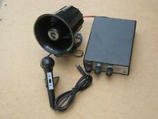NEW 12v 5 ANIMAL SIREN WITH PA SYSTEM AND MIC SCRAP MAN