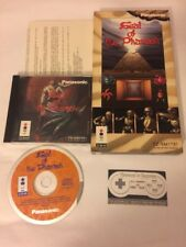 Seal of The Pharaoh (3DO, 1994) Complete CIB In Long Box