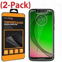 2 Pack Tempered Glass Screen Protector For Motorola Moto G7 Play  G7 Power Supra