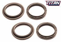 Titan Fork Oil & Dust Wiper Seal Kit Yamaha YZ125 YZ250 YZ WR 400F 426F 450F