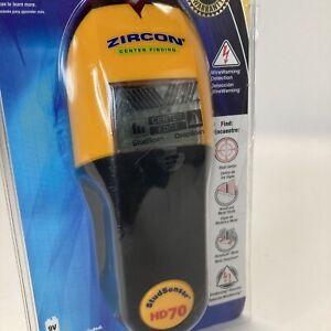 """Zircon StudSensor HD70 Stud Finder 1 1/2"""" Wire Detection (Open Box)"""