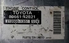 Toyota RAV4 89661-42B21 Ecu Ecm oem jdm used..