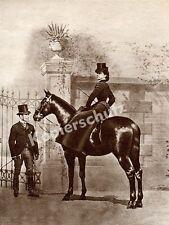 Impératrice Elisabeth sissi cheval équitation Lingl vienne Adel Habsburg K.u.K. 1875