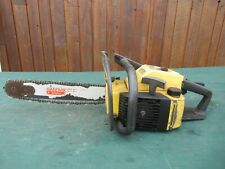 """Vintage McCULLOCH PRO MAC 650 Chainsaw Chain Saw with 16"""" Bar"""