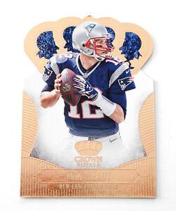 2013 Crown Royale Tom Brady #91 Patriots Die-Cut