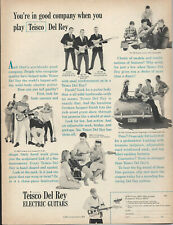 1965 TEISCO DEL RAY GUITAR PAGE AD