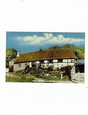 POST CARD COLOUR PHOTO BTN. 34 BARN END, BURTON