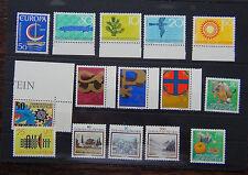 Liechtenstein 1965 Nature ITU 1966 1967 1997 Europa Symbols 1983 Paintings MNH