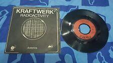 Kraftwerk radioactivity Antenna made in France press 1976 usato 45 giri