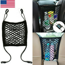 US Elastic Mesh Net Bag Between Car Seat Organizer Luggage Storage Holder Pocket