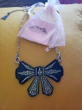 Tarina tarantino Large Bow Necklace