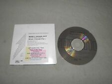 "Roxette - Wish I Could Fly RARE 1999 Israel Israeli Promo ""CDPRO 4217"" CD 2xTrk"