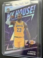LeBron James 2019-20 Donruss Optic My House! Holo Silver Prizm Lakers Minty!