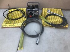 Atlas Copco Amg-3200 Concrete Vibrator With Set Of 3 Pockers Vibrator New